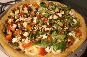 garden pizza