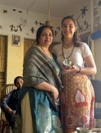 Dr. Vibha and I